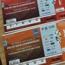 Sốc: Vé trận Việt Nam vs Man City giảm còn 1 nửa