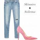 Chọn giày thu đông cho những mẫu jeans mốt nhất