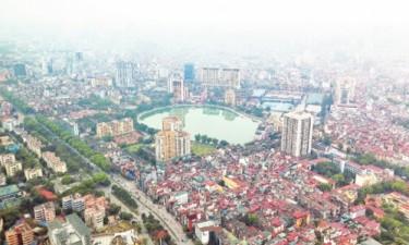 Giá đất thu hồi đất quận Ba Đình cao nhất là 62,4 triệu đồng/m2