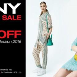 DKNY khuyến mãi BST Xuân Hè 2015